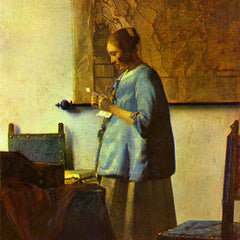 The Museum Outlet - The letter reader by Vermeer
