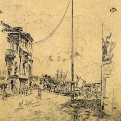 The Museum Outlet - The little Mast by Whistler