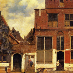 The Museum Outlet - The little street by Vermeer