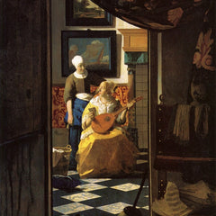 The Museum Outlet - The love letter by Vermeer