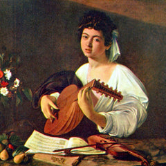 The Museum Outlet - The lutist by Caravaggio