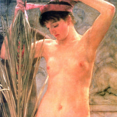 The Museum Outlet - The model of a sculptor (Venus Esquilina) detail by Alma-Tadema