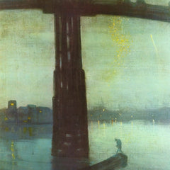 The Museum Outlet - The old Battersea bridge by Whistler