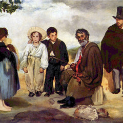 The Museum Outlet - The old musician by Manet