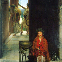 The Museum Outlet - The path to the temple  by Alma-Tadema