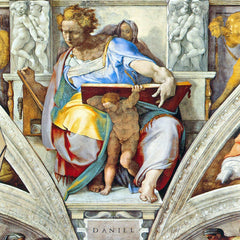 The Museum Outlet - The prophet Daniel by Michelangelo