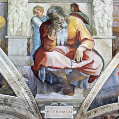 The Museum Outlet - The prophet Jeremiah by Michelangelo