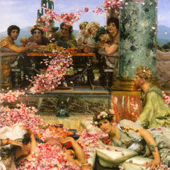 The Museum Outlet - The roses of Heliogabalus detail 2 by Alma-Tadema