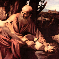 The Museum Outlet - The sacrifice of Isaac's by Caravaggio