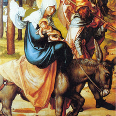The Museum Outlet - The seven Mary's pain - Flight into Egypt by Durer
