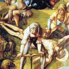 The Museum Outlet - The seven Mary's pain - nailing on the Cross by Durer