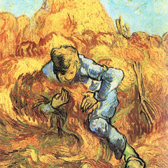 100% Hand Painted Oil on Canvas - The sheaf Binder by Van Gogh