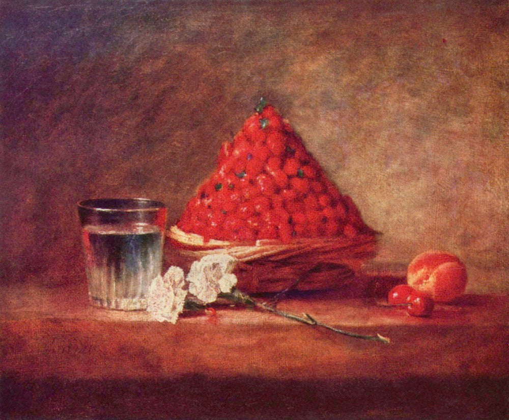 The Museum Outlet - The strawberry basket by Jean Chardin