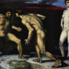 The Museum Outlet - The struggle for women [1] by Franz von Stuck