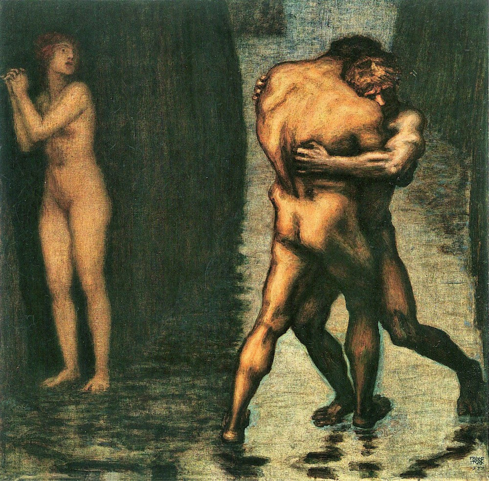 The Museum Outlet - The struggle for women [2] by Franz von Stuck