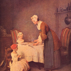 The Museum Outlet - The table prayer by Jean Chardin