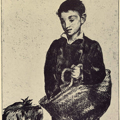 The Museum Outlet - The urchin by Manet