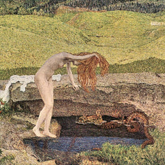 100% Hand Painted Oil on Canvas - The vanity by Giovanni Segantini