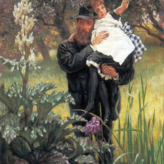 The Museum Outlet - The widower by Tissot