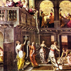 The Museum Outlet - The wise and foolish virgins by Tintoretto