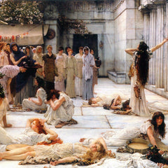 The Museum Outlet - The women of Amphissa, detail by Alma-Tadema