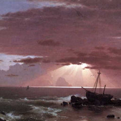 The Museum Outlet - The wreck by Frederick Edwin Church