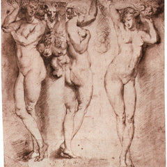 The Museum Outlet - Three caryatids by Rubens