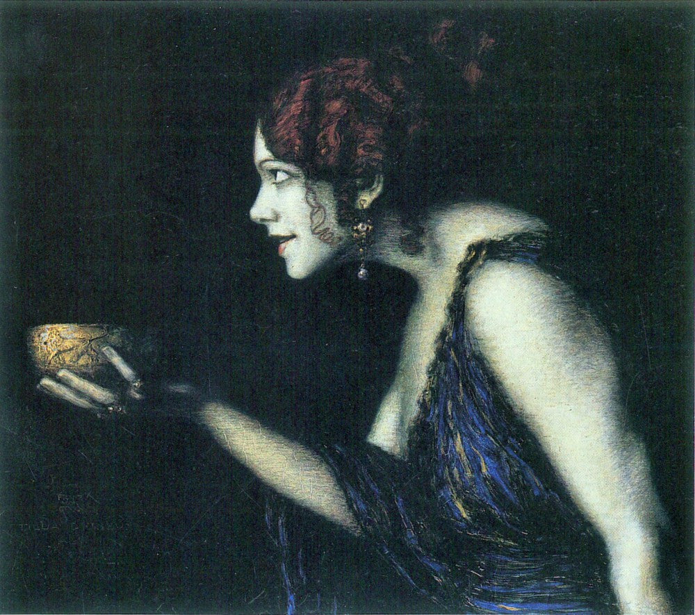 The Museum Outlet - Tilla Durieux as Circe by Franz von Stuck