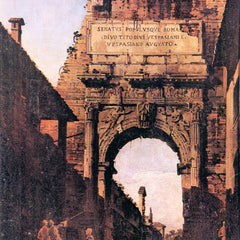 The Museum Outlet - Titus Arch in Rome by Canaletto