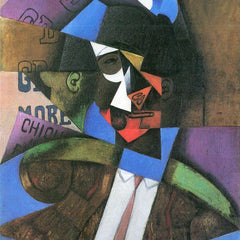 100% Hand Painted Oil on Canvas - Torero by Juan Gris