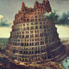 The Museum Outlet - Tower of Babel [1] by Pieter Bruegel