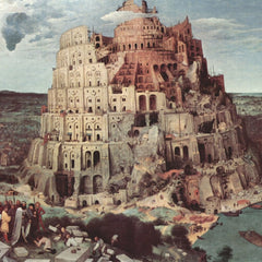 The Museum Outlet - Tower of Babel [3] by Pieter Bruegel