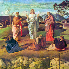 The Museum Outlet - Transfiguration of Christ by Bellini