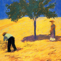 The Museum Outlet - Tree in Cornfeld by Macke