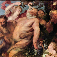 The Museum Outlet - Triumph of Silenus by Van Dyck