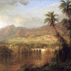 The Museum Outlet - Tropical Scene by Frederick Edwin Church