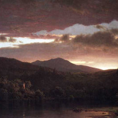 The Museum Outlet - Twilight (Catskill Mountain) by Frederick Edwin Church