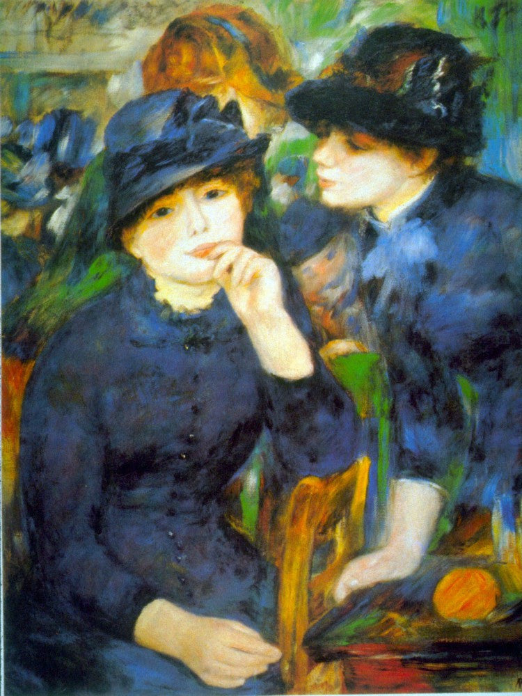 The Museum Outlet - Two Girls by Renoir