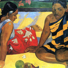 The Museum Outlet - Two Women From Tahiti by Gauguin