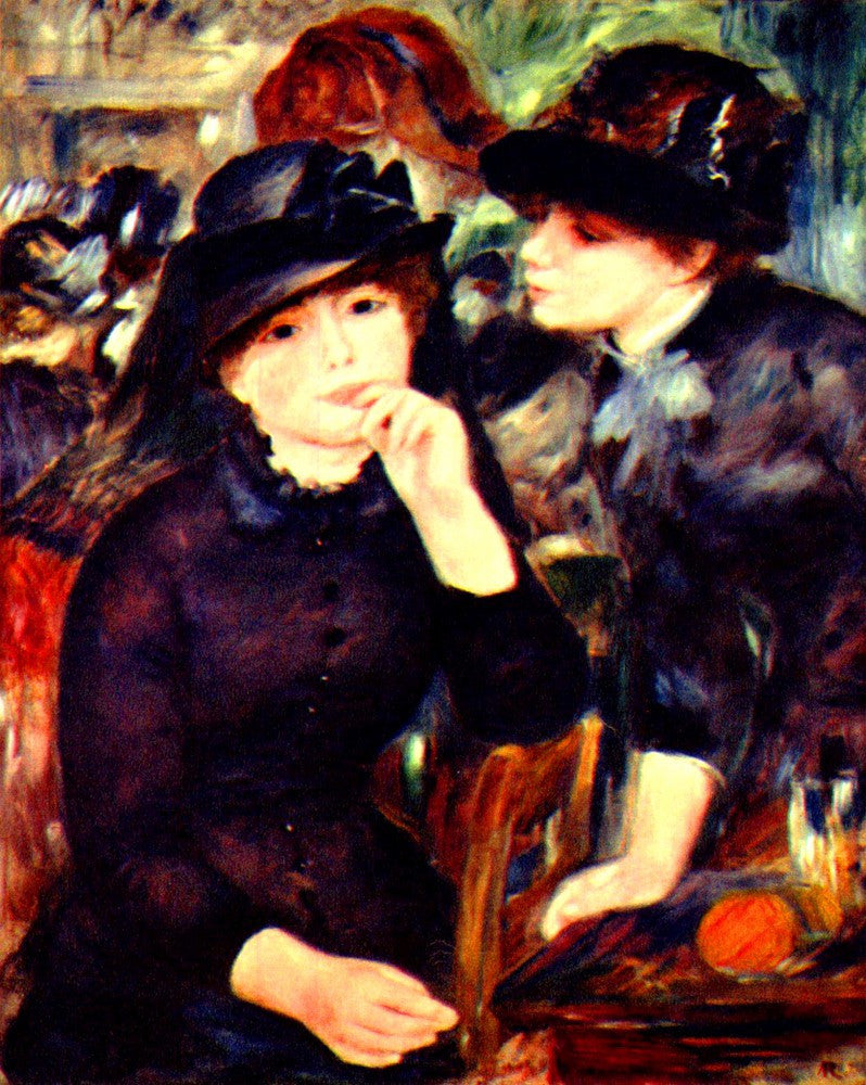 The Museum Outlet - Two girls in black