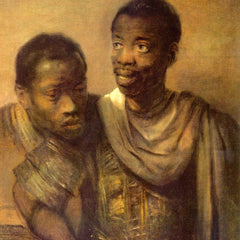 The Museum Outlet - Two young Africans by Rembrandt