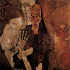 The Museum Outlet - Unlicensed or even death, and man by Schiele