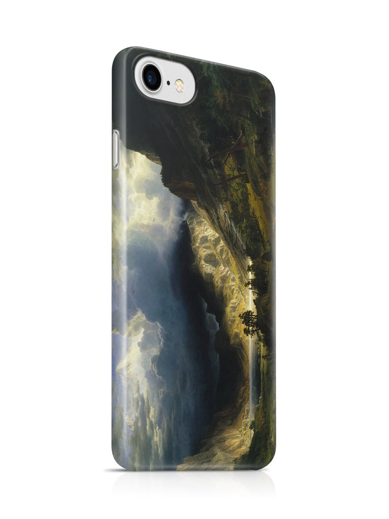 Vinteja Officially Licensed - Bierstadt - Storm in the Rocky Mountains - Curated Case Cover For IPHONE 6/6S