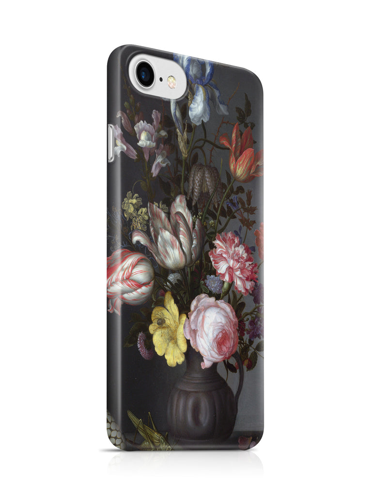Vinteja Officially Licensed - Bouquet of flowers in a vase with sea shells - Curated Case Cover For IPHONE 7