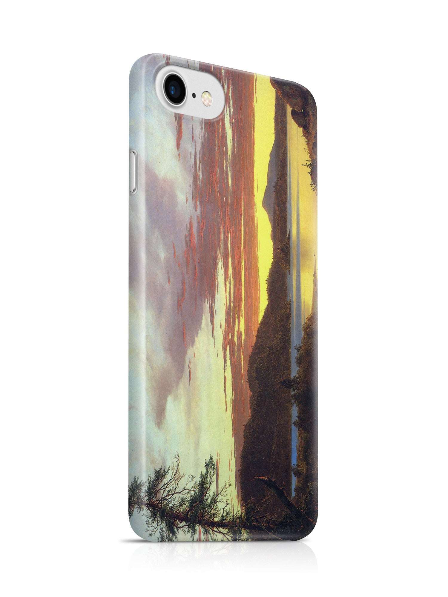 Vinteja Officially Licensed - A Sunset by Frederick Edwin Church - Curated Case Cover For IPHONE 7