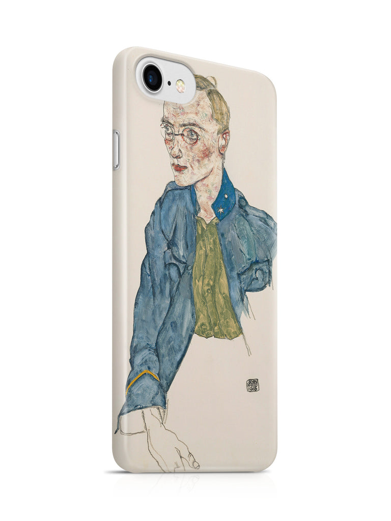 Vinteja Officially Licensed - Egon Schiele - Lance-Corporal - Curated Case Cover For IPHONE 7