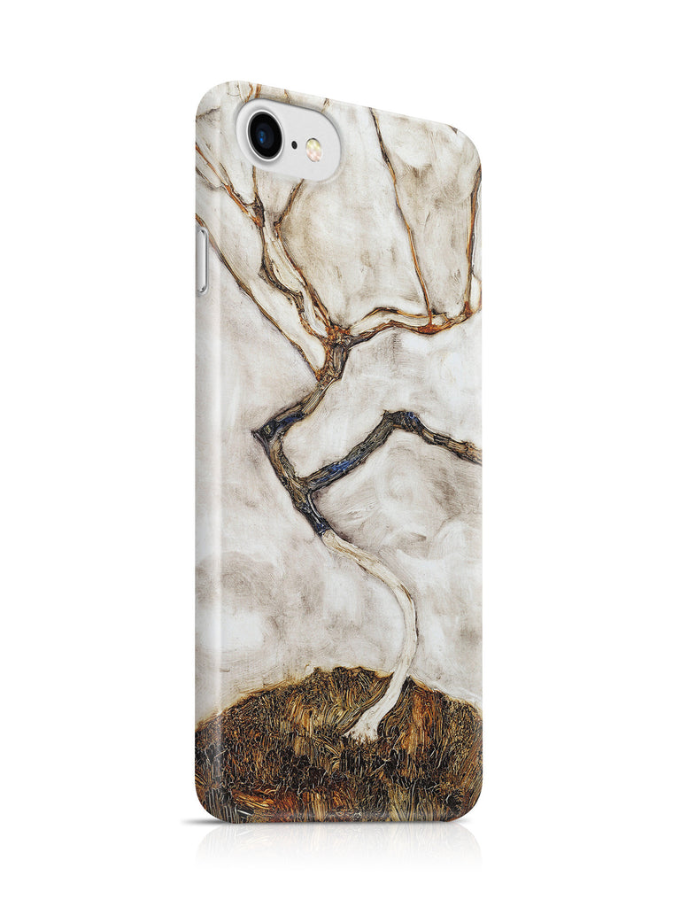 Vinteja Officially Licensed - Egon Schiele - Small Tree in Late Autumn - Curated Case Cover For IPHONE 7