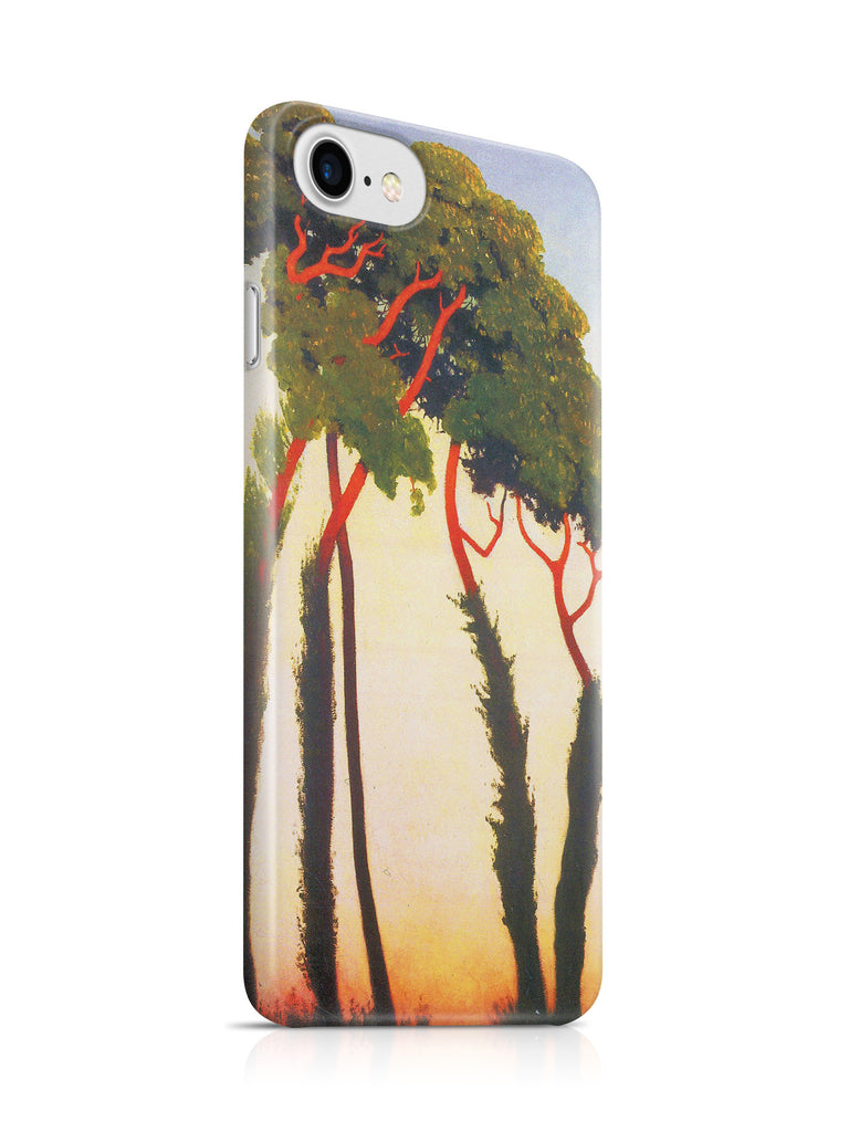 Vinteja Officially Licensed - Five Trees by Felix Vallotton - Curated Case Cover For IPHONE 6/6S
