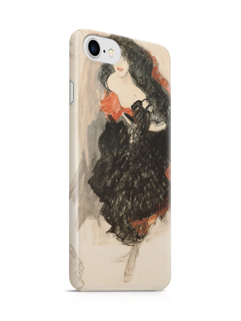 Vinteja Officially Licensed - Klimt - Study for Judith II - Curated Case Cover For IPHONE 7