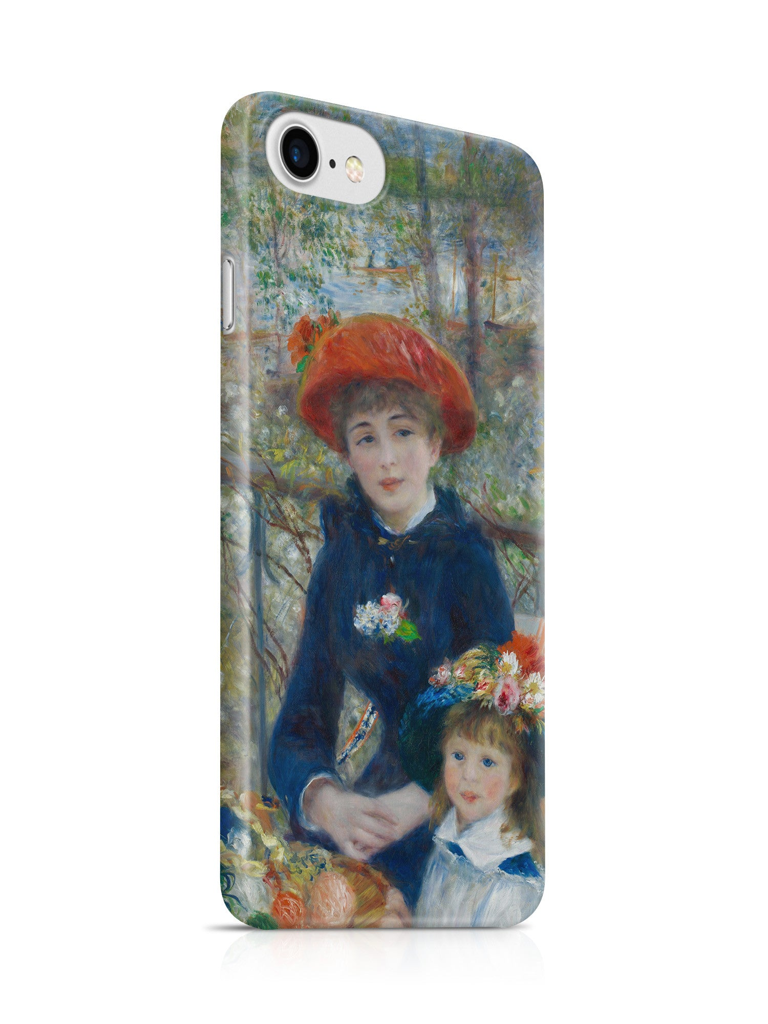 Vinteja Officially Licensed - Renoir - Two sisters on the terrace 2 - Curated Case Cover For IPHONE 7